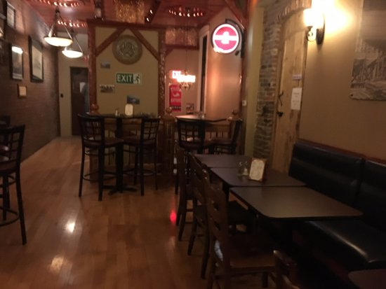 Medina, نيويورك: Back dining room