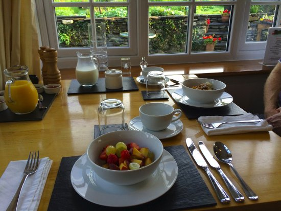 Machynlleth, UK: Fresh breakfast