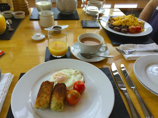 Machynlleth, UK: Vegetarian cooked breakfast