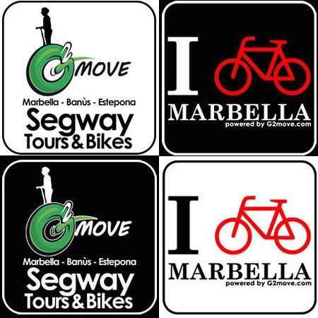Puerto Banus, Spania: Logos I Bike Marbella - G2Move Marbella Segway Tours