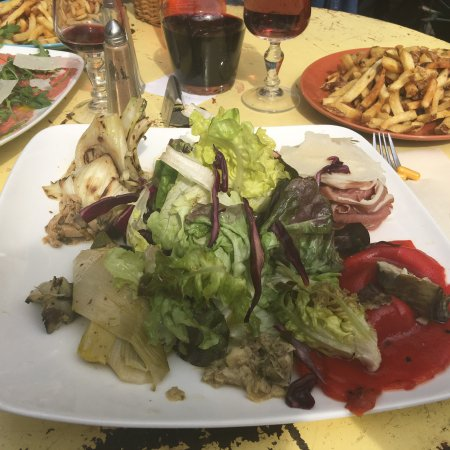 Sommieres, France: Assiette antipasti