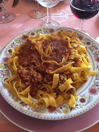 Vignola, Italien: Tagliatelle al ragù