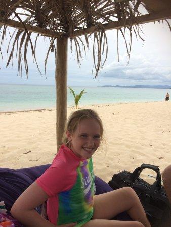 Denarau Island, Fiji: In our bure which provided great shade
