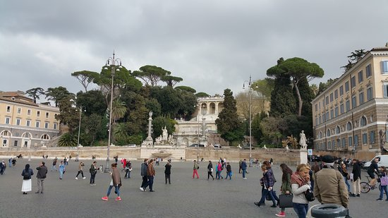 Photo of Monument / Landmark Piazza del Popolo at Piazza Del Popolo, Rome 48121, Italy