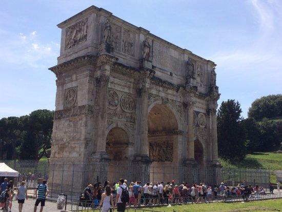 Photo of Monument / Landmark Arco di Costantino at Via Di San Gregorio, Rome 00184, Italy