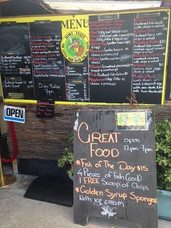 Thames, Neuseeland: Great food!