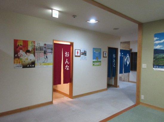 Chikuma, Japan: 館内、トイレ