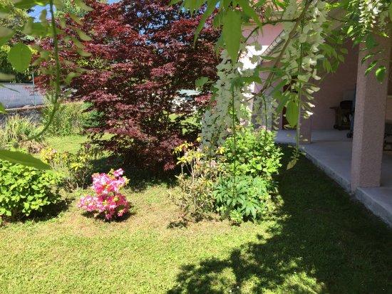 Gex, Francia: Jardin