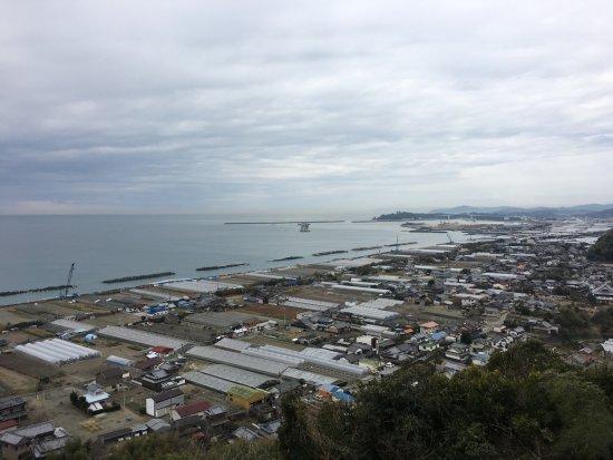 Nankoku, Japan: はるか彼方に桂浜が見える