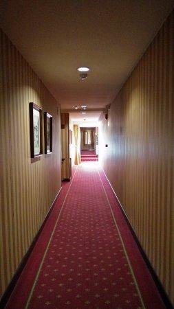 Hotel Fernán González: Uno de los pasillos