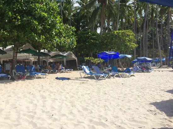 Herradura, Kosta Rika: A view of the beach