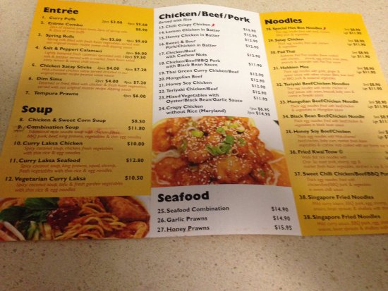 Pimpama, Australia: The menu is amazing, soooooo much to choose from!