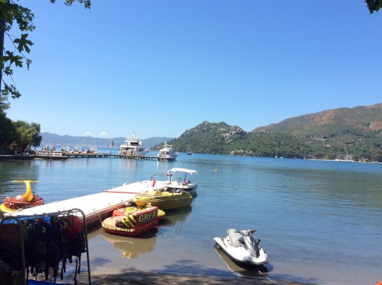 TUI Sensimar Marmaris Imperial Hotel: View from snack bar