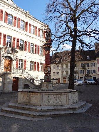 Delemont, Switzerland: Delémont - Fontaine de la Vierge