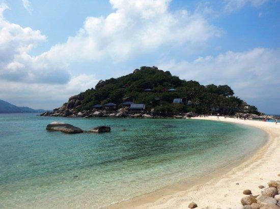 Ko Nang Yuan, تايلاند: пляж на острове нанг юань