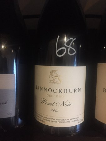 Port Fairy, Australia: Great wines at great prices