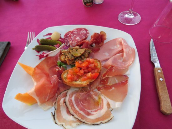Porto Ceresio, Italia: Antipasto - starter