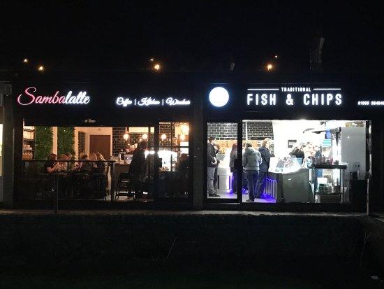 Old Kilpatrick, UK: Figaros fish and chips