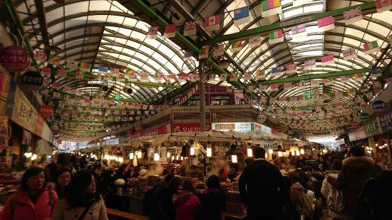 Gwangjang Market : 市場內部