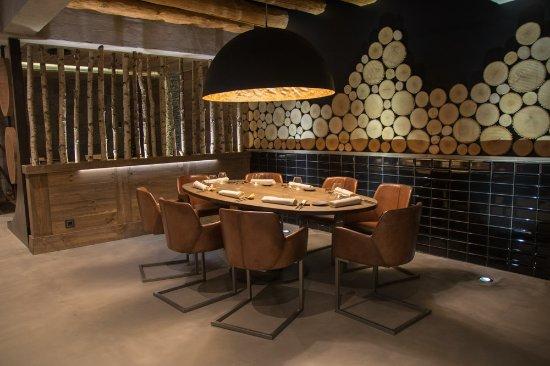 restaurant el portalet: ambiente privado