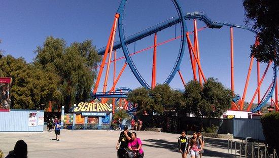 Six Flags Magic Mountain : scream