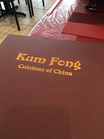 Kum Fong Restaurant: cardapio