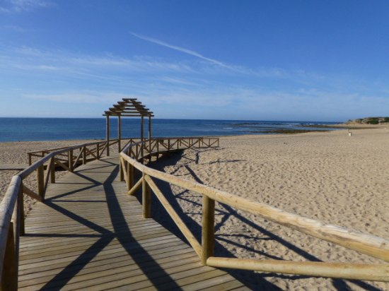 Province of Cadiz, Espanha: Beach beside Trafalgar