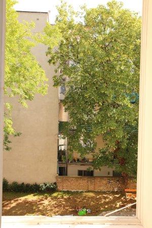 Hotel Am Schottenpoint: Gartenblick