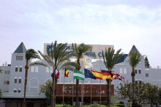 Vera Playa Club Hotel : Entrada al hotel