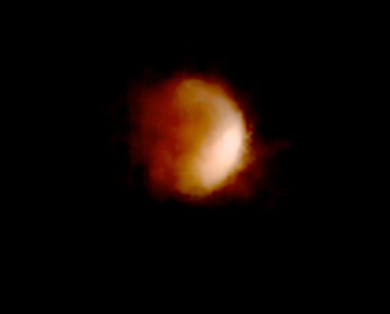 Garrison, NY: Moon from the top of Graymoor's Mountain and The Founder's Gravesite