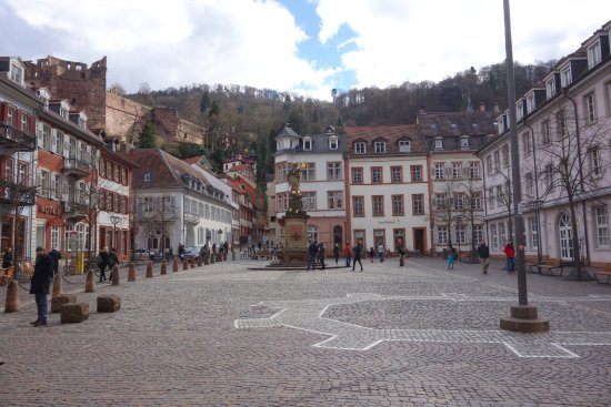 Photo of Monument / Landmark Kornmarkt at Heidelberg, Germany