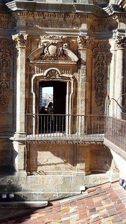 Scala Coeli Torres de la Clerecia: balconcino