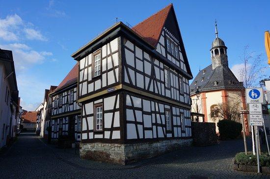 Oberursel (Taunus), Germany: Altes Hospital und Hospitalkirche in der Altstadt von Oberursel