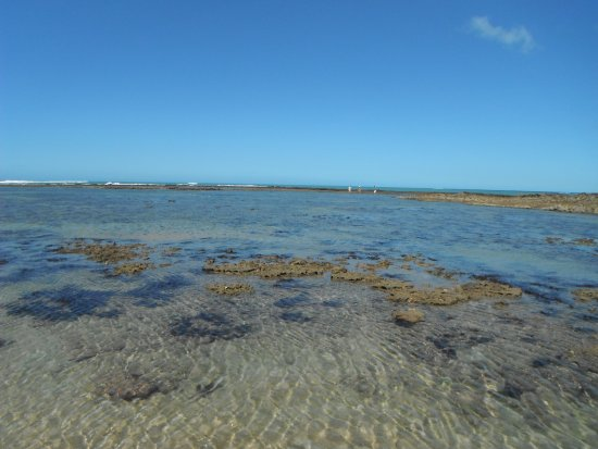 Trancoso, BA: Olha a nitidez da água