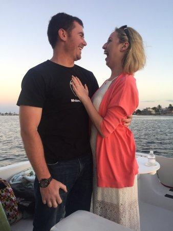 Matlacha, Floryda: Tim asked and she said YES