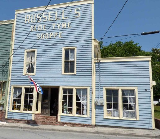 Swansboro, Carolina do Norte: Russell's Store Front