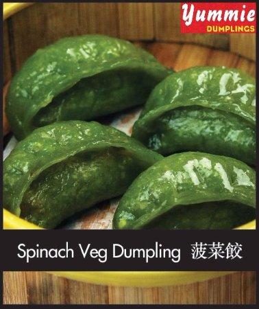 Footscray, Australia: Spinach Veg Dumpling