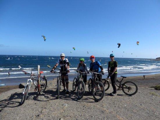Puntagorda, España: Arrival