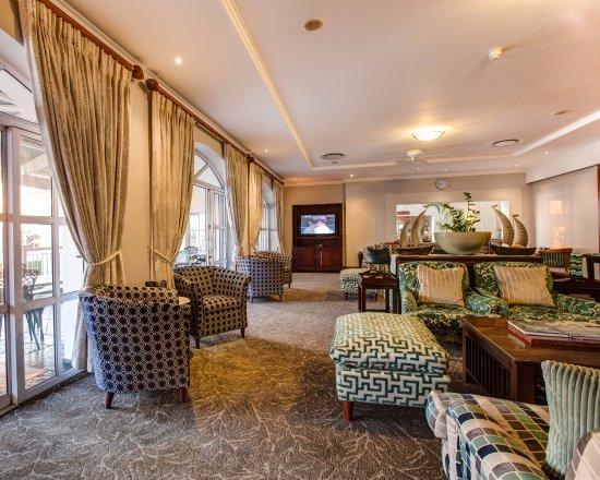 Summerstrand, Afrika Selatan: Guest Lounge
