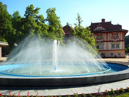 Luhacovice, Repubblica Ceca: Hotel Jurkovič od kolonády
