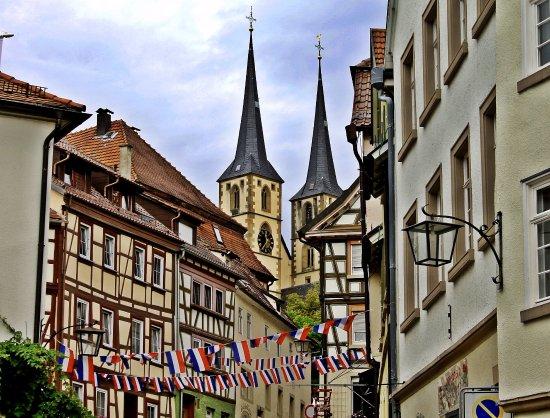 Bad Wimpfen, Tyskland: ярмарка французких товаров в Бад-Вимпфене