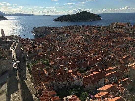 Minceta Fortress : 旧市街を見下ろす眺め