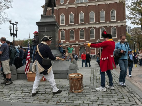Photo of Historic Site Freedom Trail at Boston, MA 02109, United States