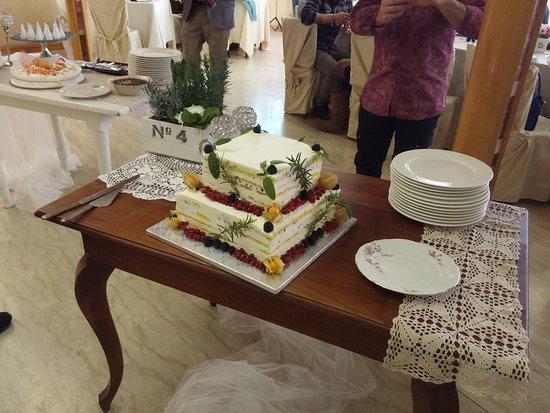 Mercato Saraceno, Italy: Torta