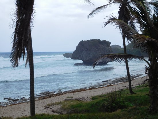 Bathsheba, Barbados: Mushroom rock formation