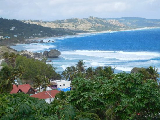 Bathsheba, Barbados: Rugged beach