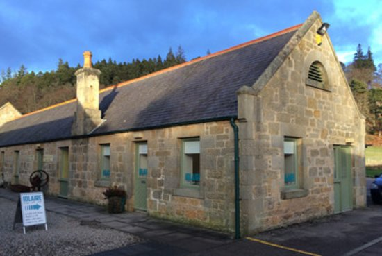 Nairn, UK: Exterior view of my premises at Logie Steading