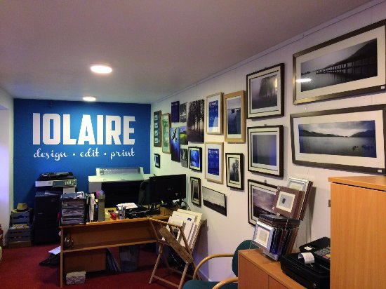 Nairn, UK: Internal view of my office