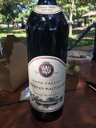 St. Helena, CA: A great place to go on a picnic with good selection of cheese and of course wine. Better to go o