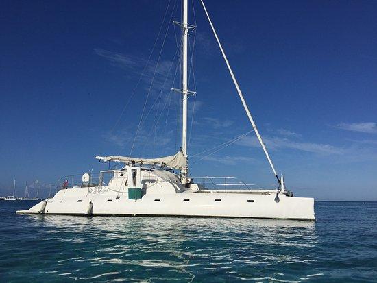 Bayahibe, Dominikanska Republiken: Avanr de monter à bord